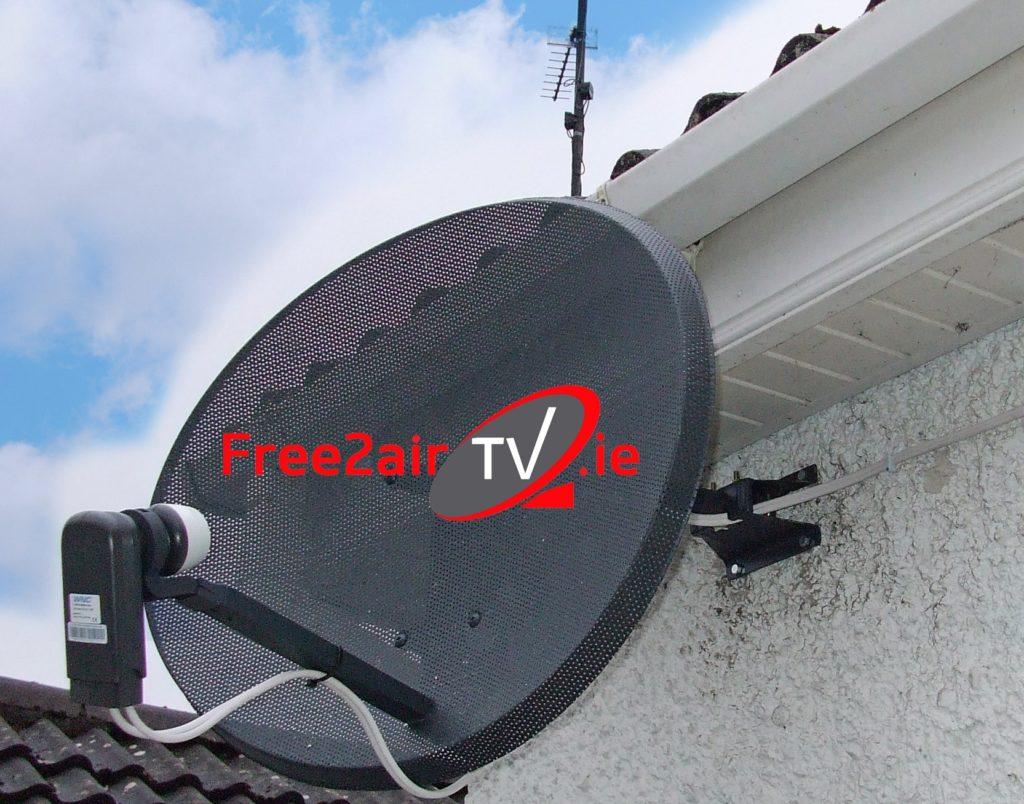 Satellite Dish  saorview Aerial