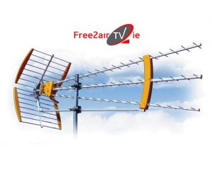 High Gain Aerials Record & Watch Irish & UK with a decoder