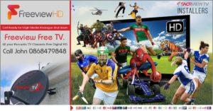 Saorview Digital HD TV Channels Installers