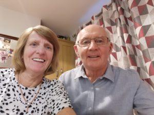 Meet Geraldine & John. We are here to help always.